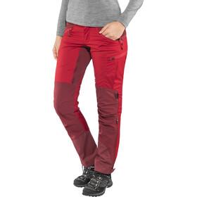Lundhags Makke Pantalon Femme, red/dark red